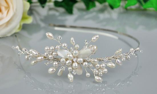 rajfovi za mlade ukrasi za kosu za venčanja nakit za venčanja